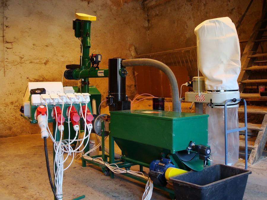 pellet gyártó gép