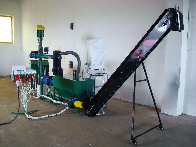 pellet gyártó gép MGL 200